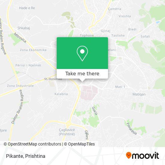 Pikante map