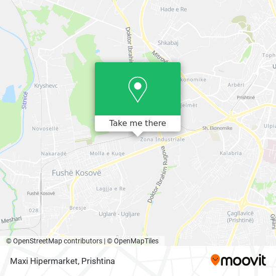 Maxi Hipermarket map