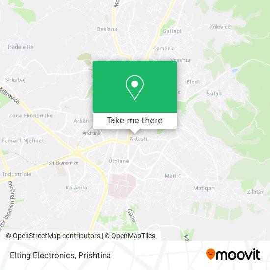 Elting Electronics map