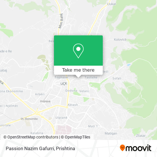 Passion Nazim Gafurri map
