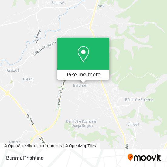 Burimi map