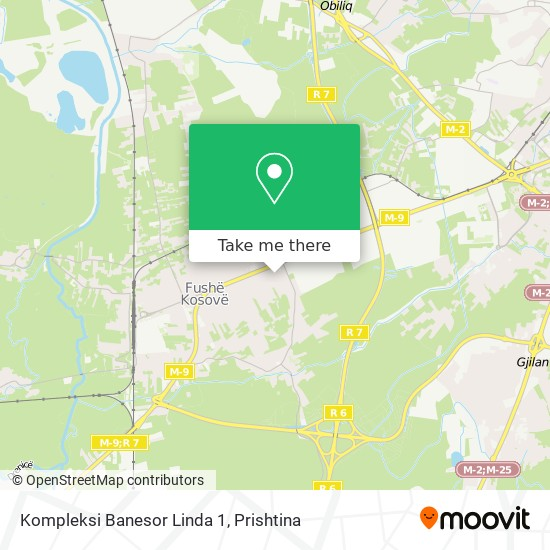 Kompleksi Banesor Linda 1 map