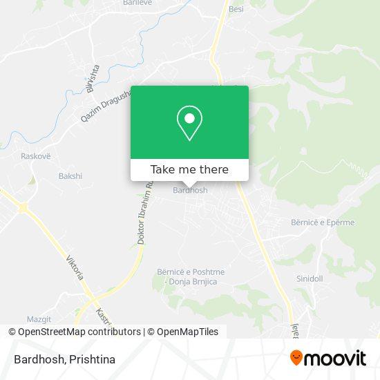 Bardhosh map