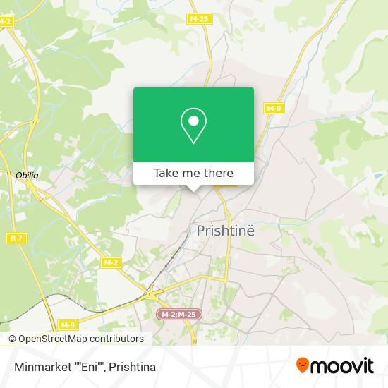 """Minmarket """"""""Eni"""""""" map"""