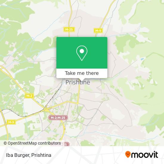 Iba Burger map