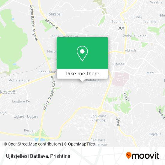 Ujësjellësi Batllava map