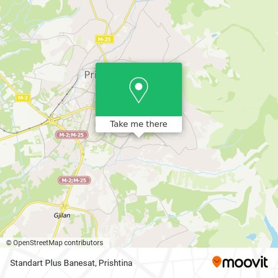 Standart Plus Banesat map
