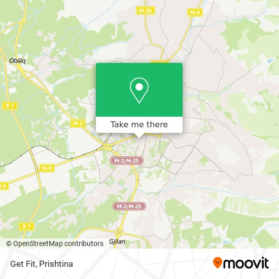 Get Fit map