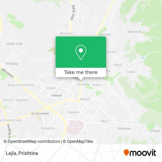 Lejla map