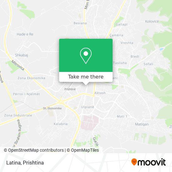 Latina map