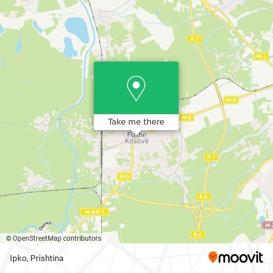 Ipko map