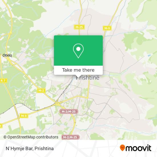 N`Hymje Bar map