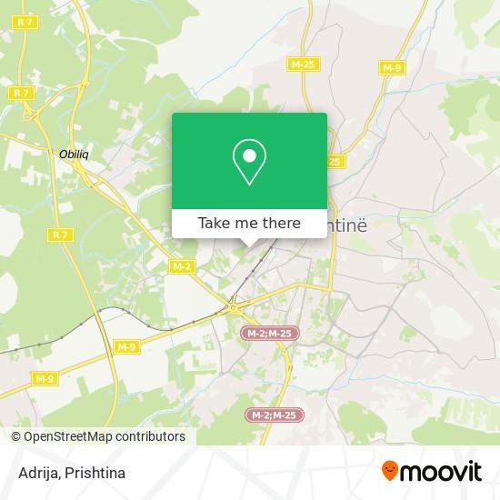 Adrija map
