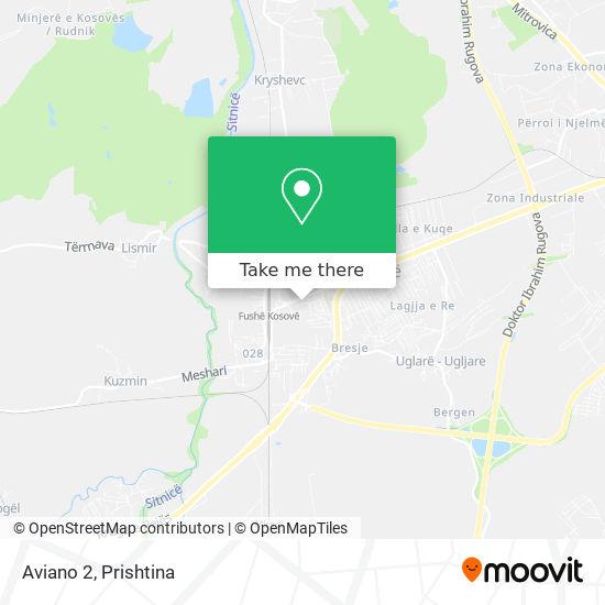 Aviano 2 map