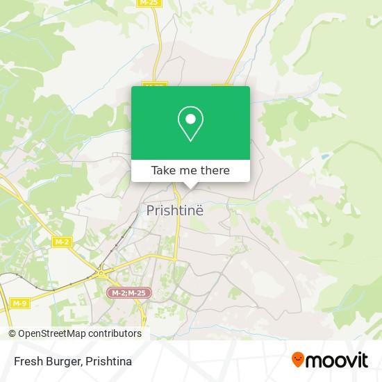 Fresh Burger map