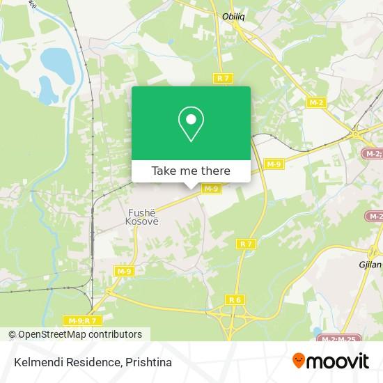 Kelmendi Residence map