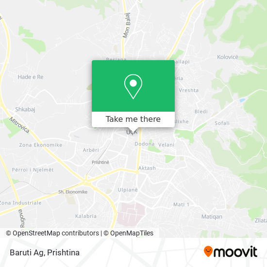 Baruti Ag map