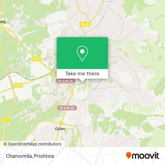Chamomila map