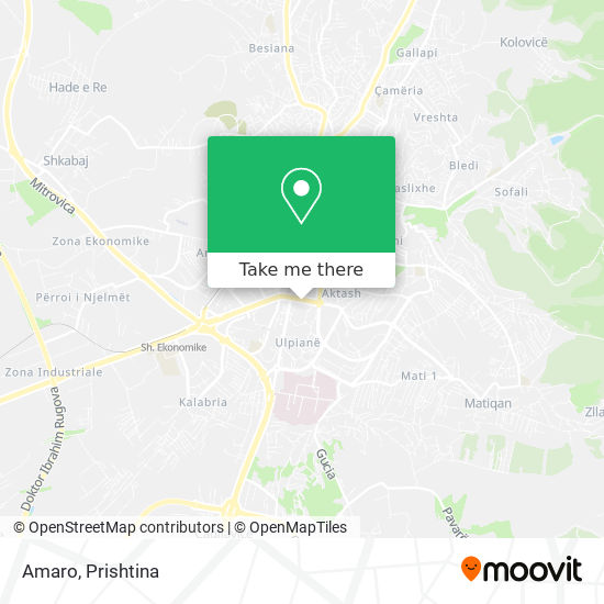 Amaro map
