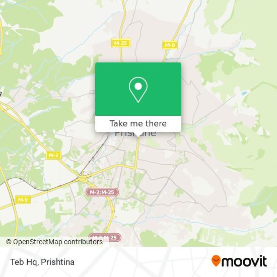 Teb Hq map