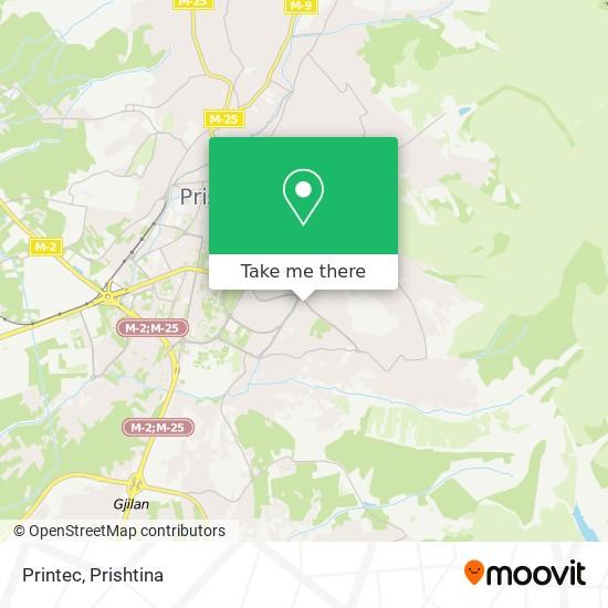 Printec map