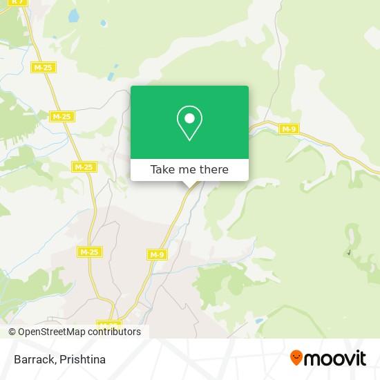 Barrack map