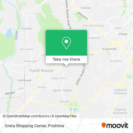 Greta Shopping Center map
