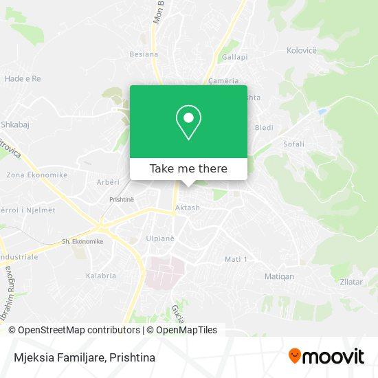Mjeksia Familjare map