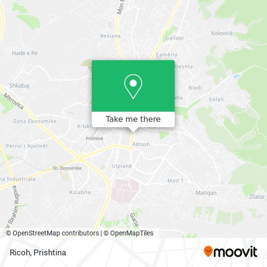 Ricoh map