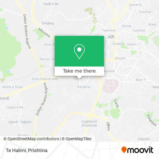 Te Halimi map
