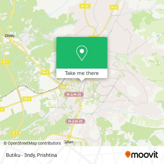 Butiku - 3ndy map