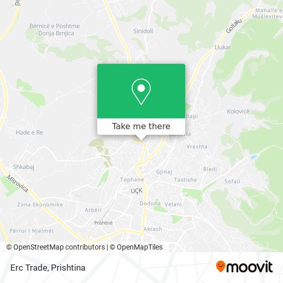 Erc Trade map
