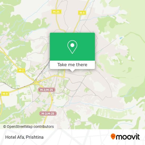 Afa map