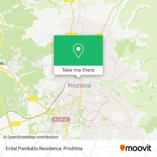 Erdal Panduklu Residence map