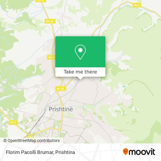 Florim Pacolli Brumar map