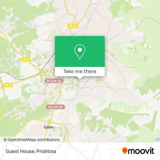 Guest House map