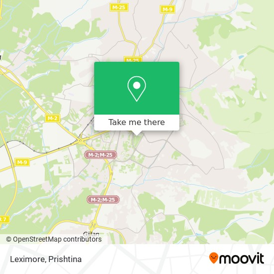 Leximore map