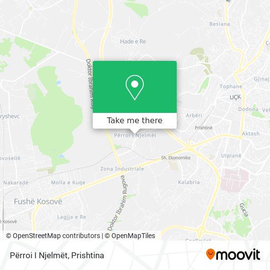 Përroi I Njelmët map