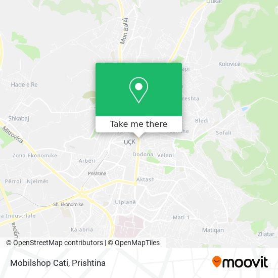 Mobilshop Cati map
