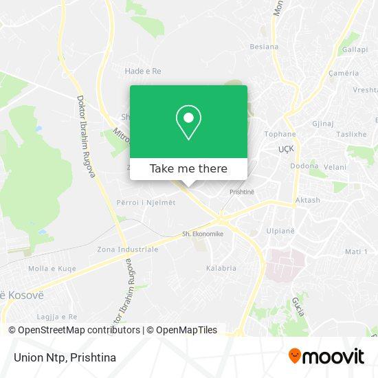 Union Ntp map