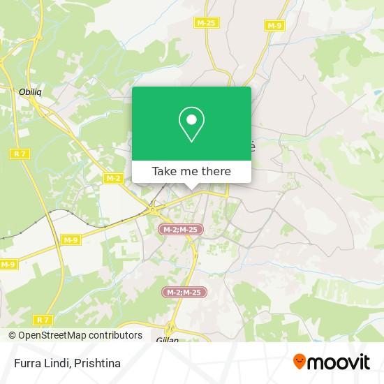 Furra Lindi map