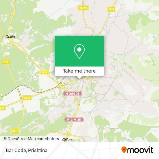 Bar Code map