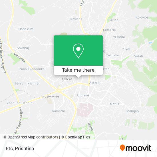 Etc map