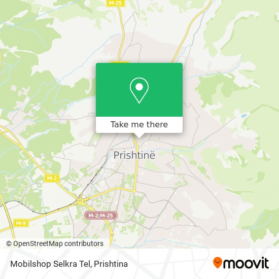 Mobilshop Selkra Tel map