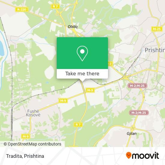 Tradita map