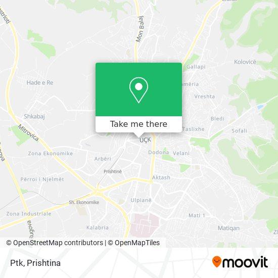 Ptk map