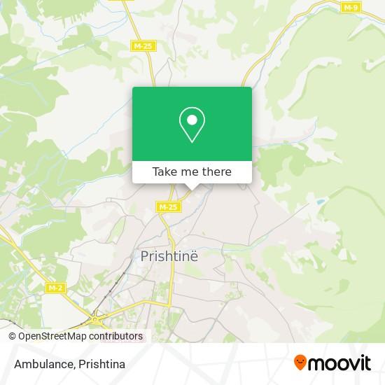 Ambulance map