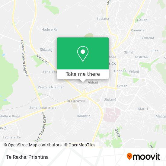 Te Rexha map