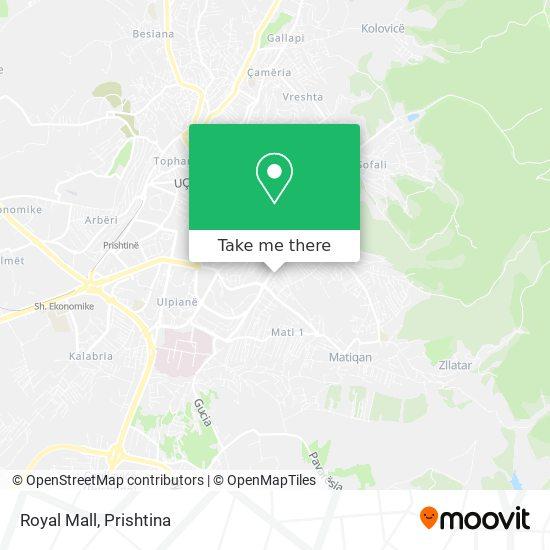 Royal Mall map