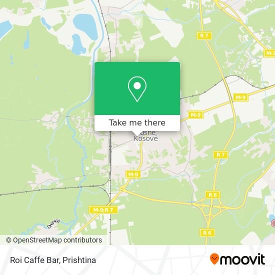 Roi Caffe Bar map